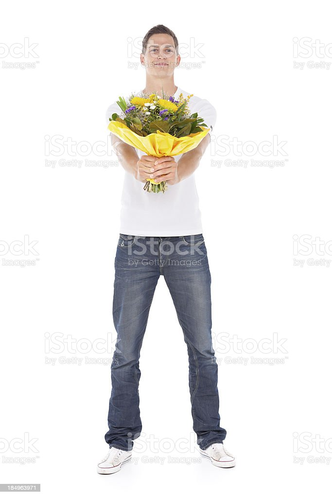 young man - for you stock photo