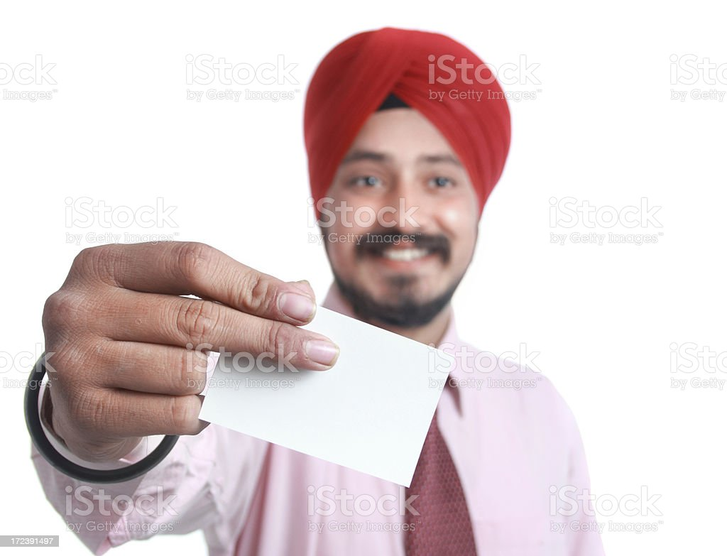 young man holding placard sign royalty-free stock photo