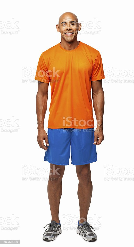 Young Man In Sportswear - Isolated stock photo