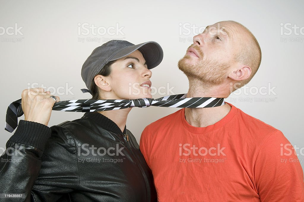 Young Man In Trouble II royalty-free stock photo