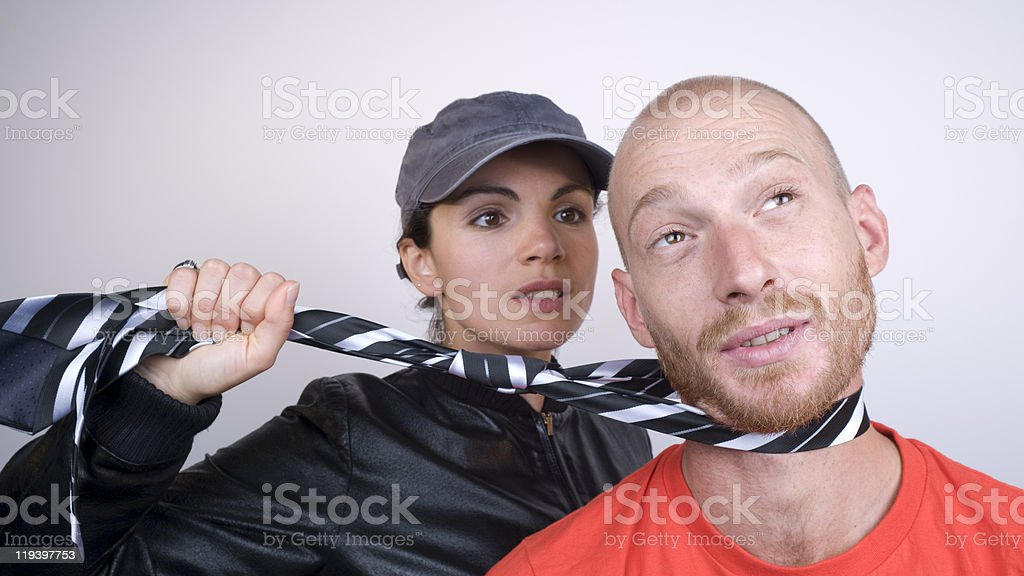 Young Man In Trouble royalty-free stock photo