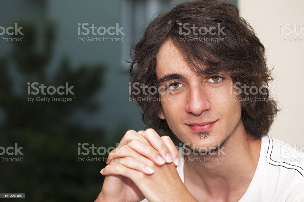 Young Man Portrait royalty-free stock photo