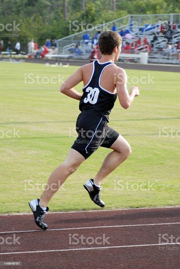 Running track Lizenzfreies stock-foto
