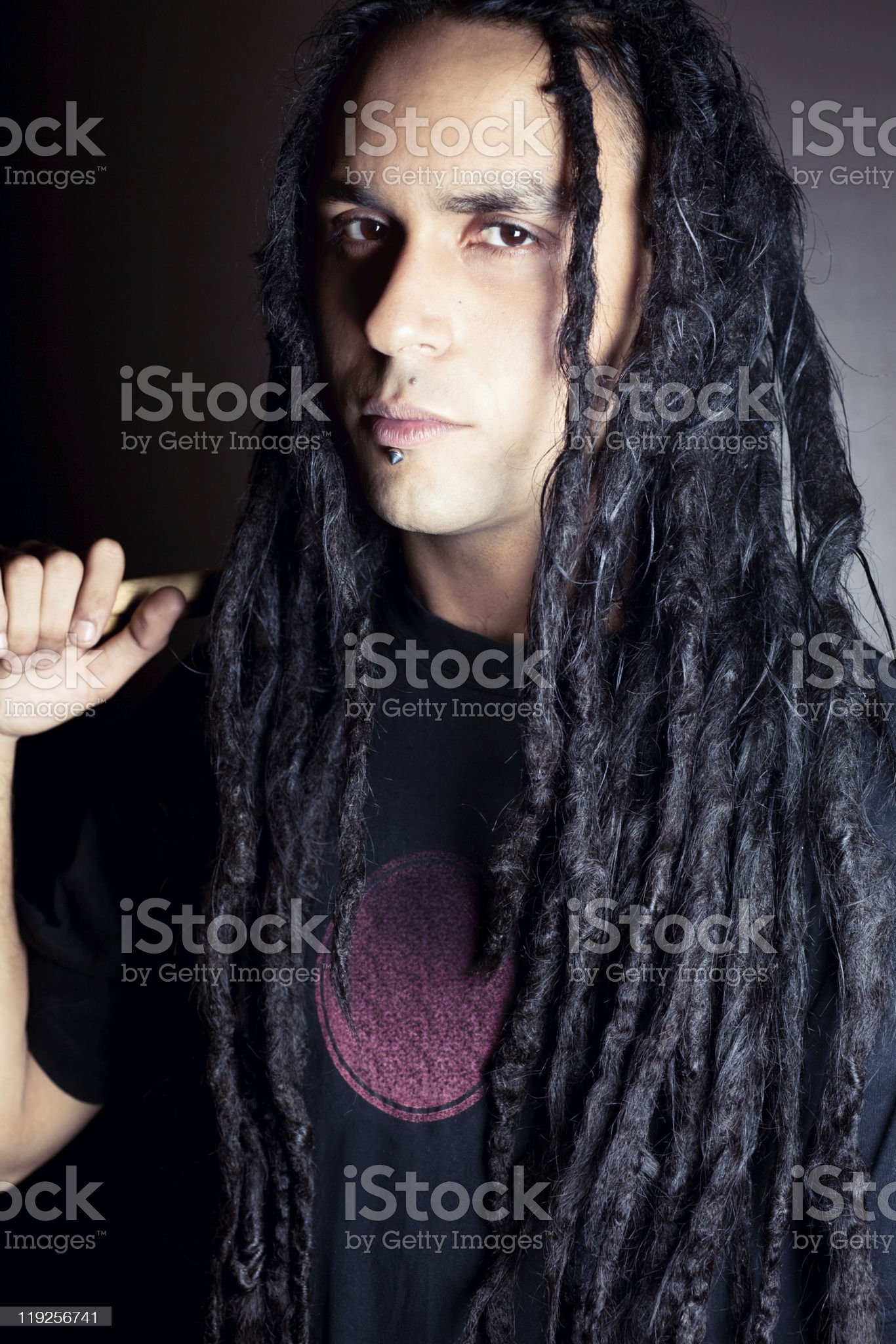 Young man with attitude royalty-free stock photo