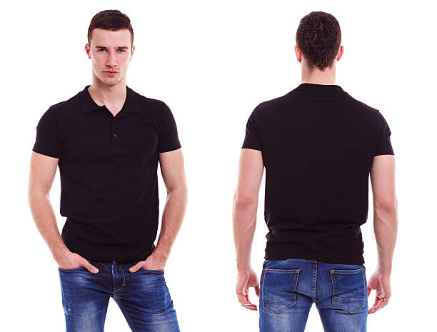 Polo shirt pictures images and stock photos istock for Black polo shirt images