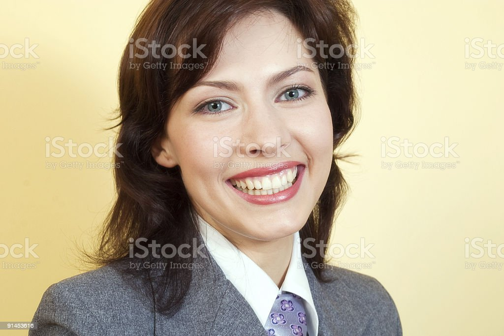 young manager royalty-free stock photo
