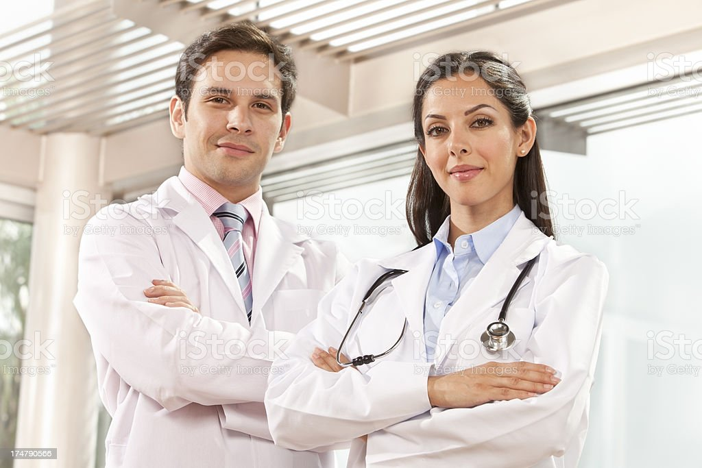 Young Medical Staff royalty-free stock photo