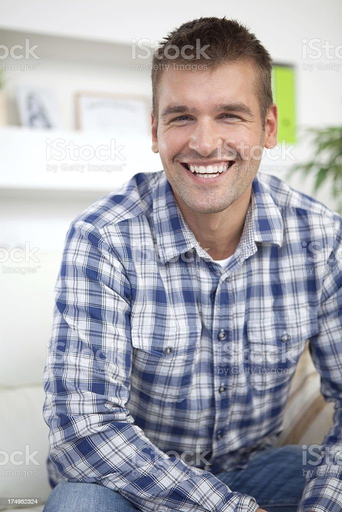 Young men royalty-free stock photo