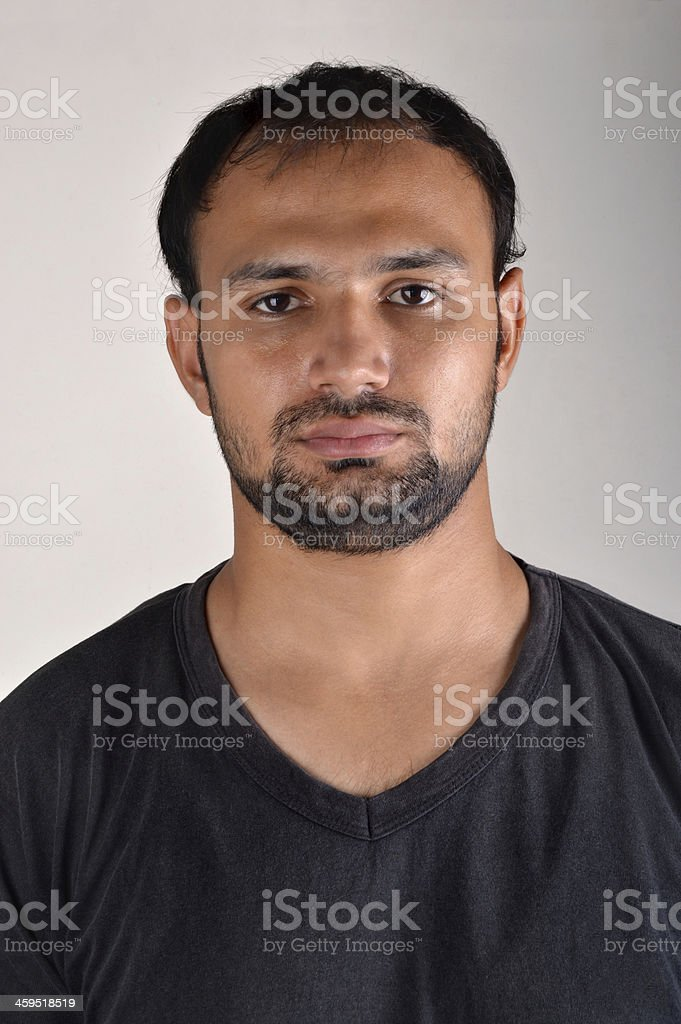 Young Men Portrait stock photo