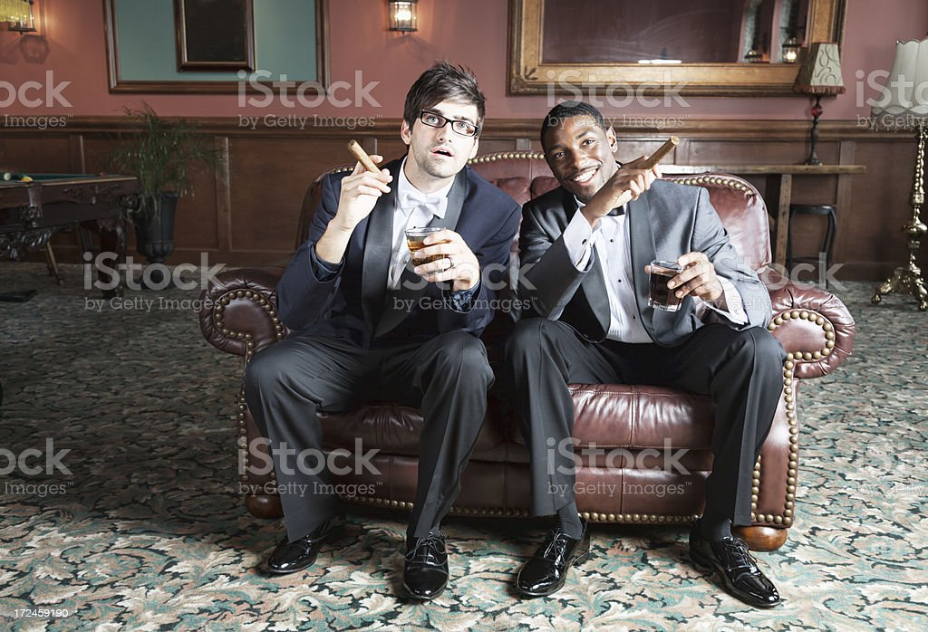 young men tuxedo party wedding royalty-free stock photo