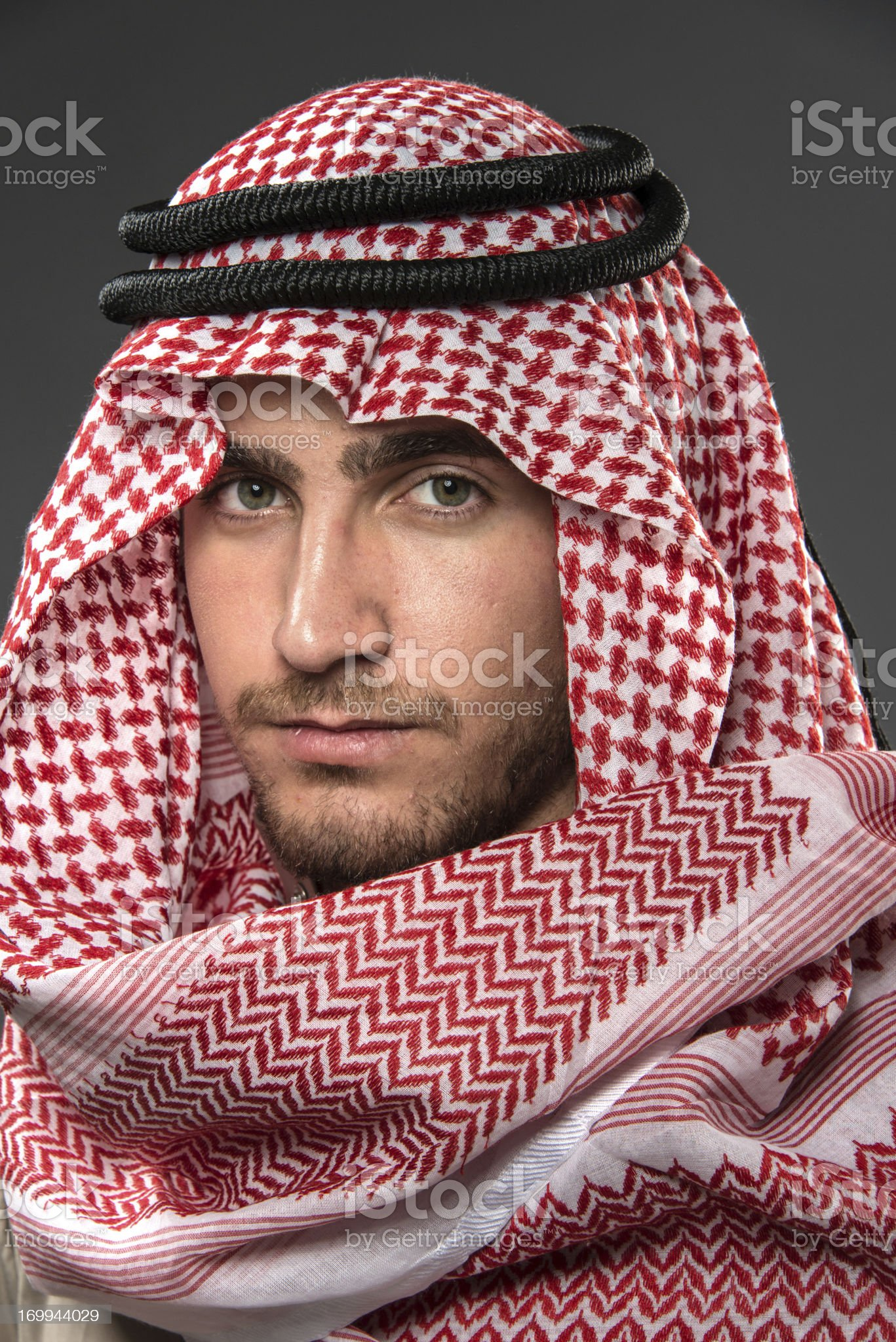 Young Middle Eastern Man royalty-free stock photo