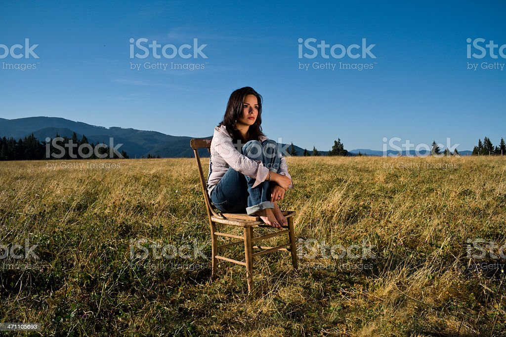 Young Missing royalty-free stock photo