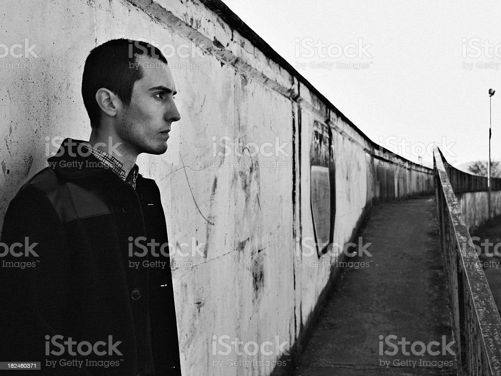 Young mod stock photo