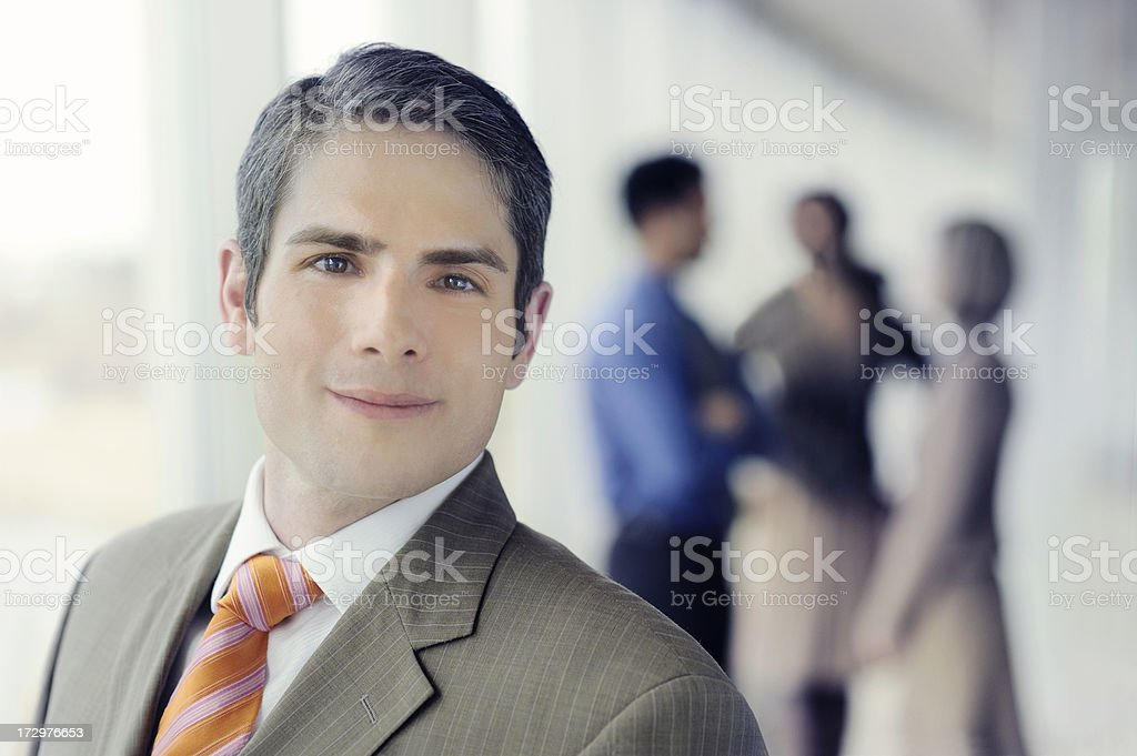 young modern executive royalty-free stock photo