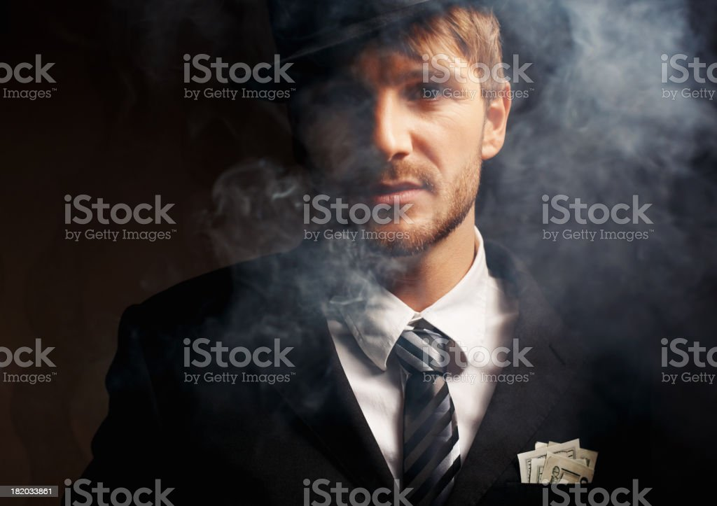 Young money royalty-free stock photo