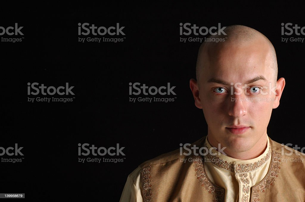 Young monk royalty-free stock photo