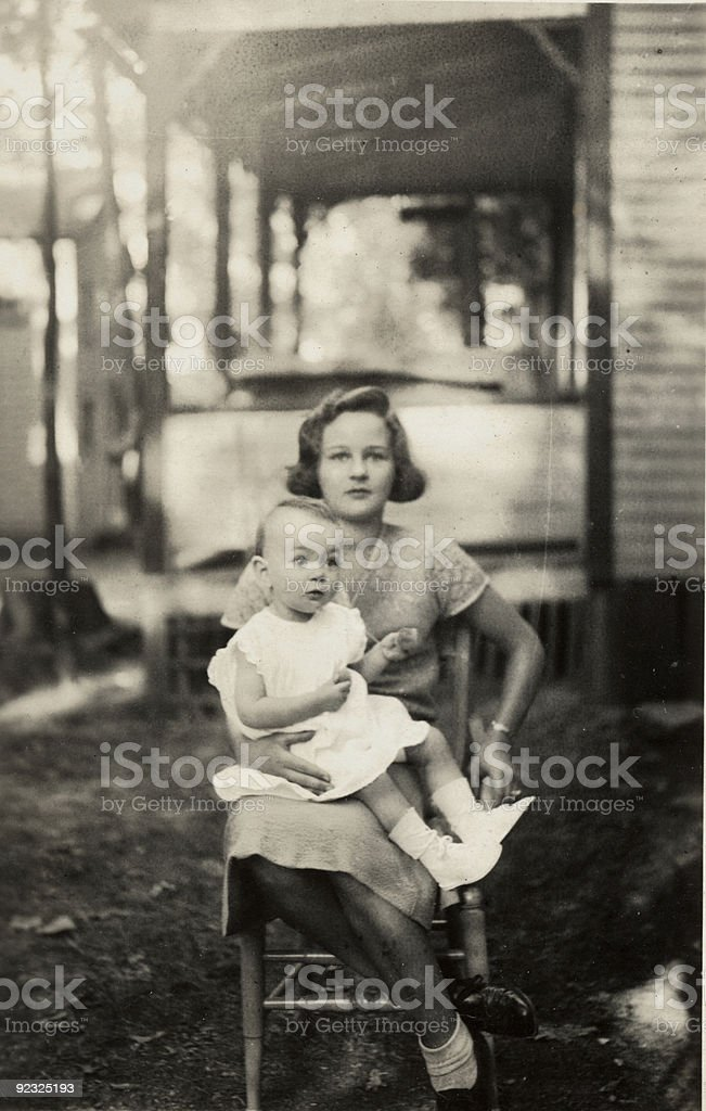 Young Mother royalty-free stock photo