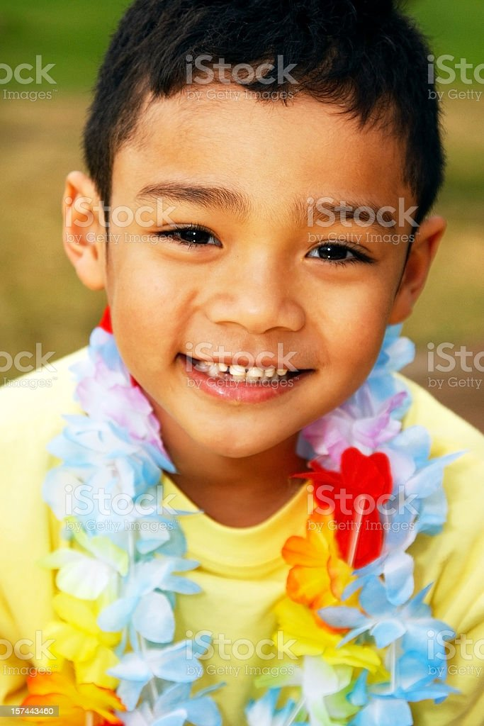 Young Multiethnic Boy royalty-free stock photo