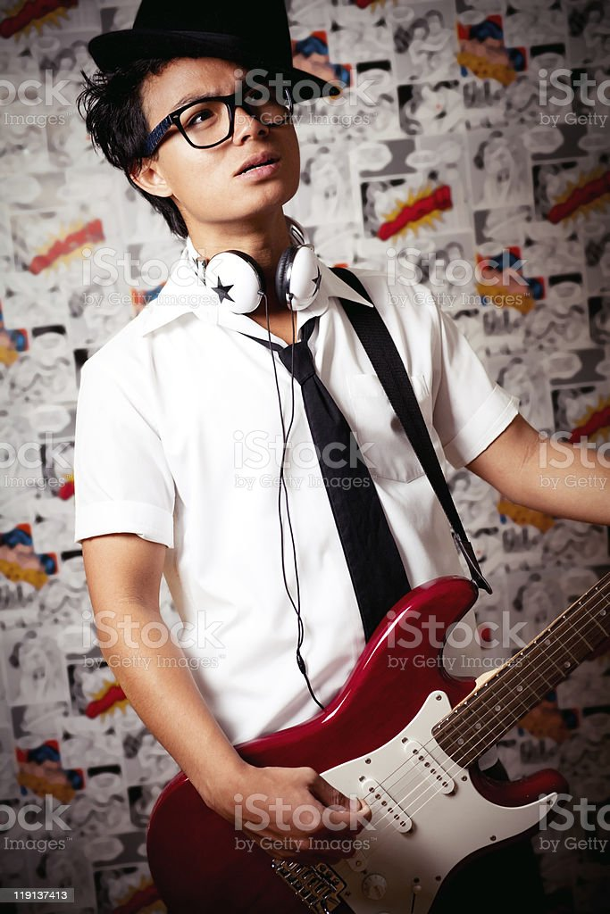 Young Musician royalty-free stock photo