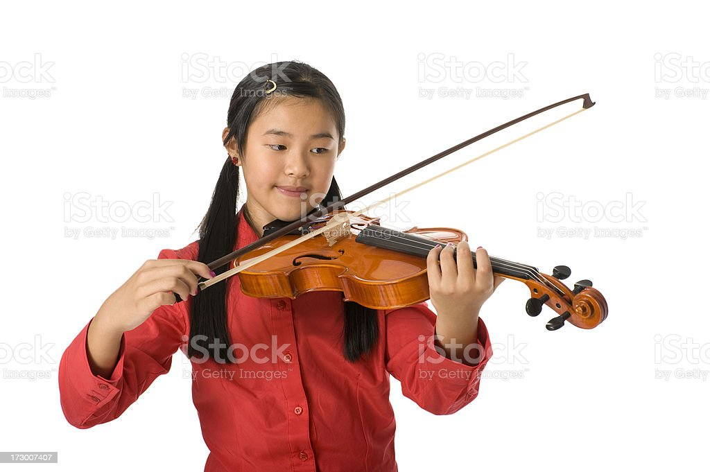 Young musician stock photo