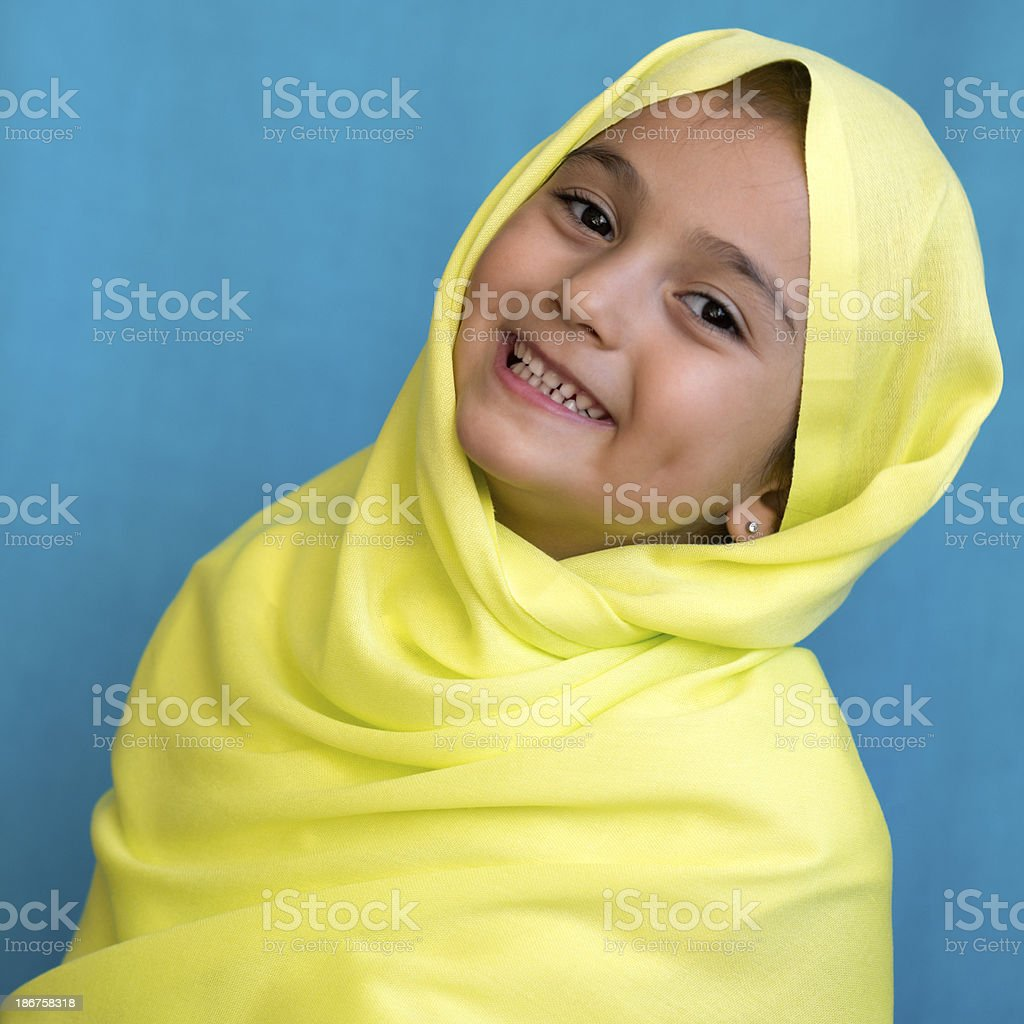 Young muslim girl royalty-free stock photo