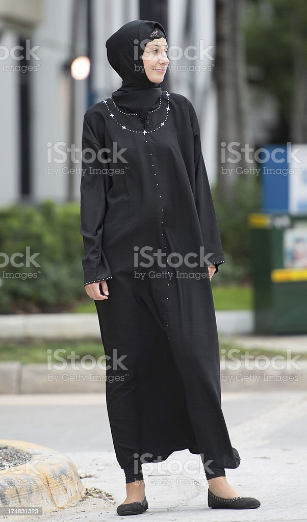 Young muslim woman royalty-free stock photo
