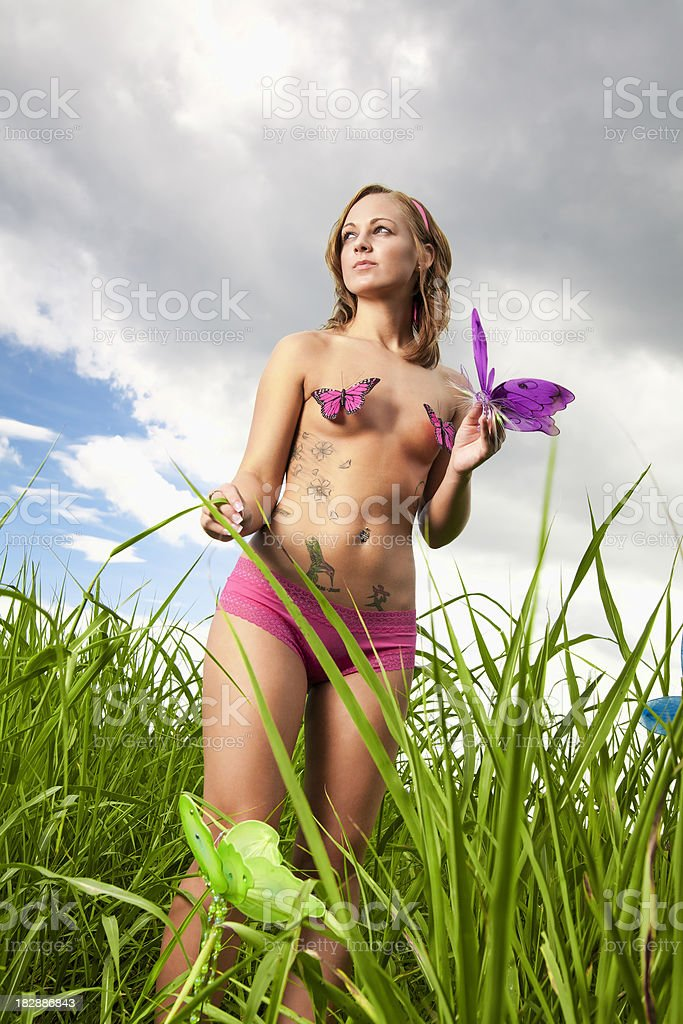 young nature royalty-free stock photo