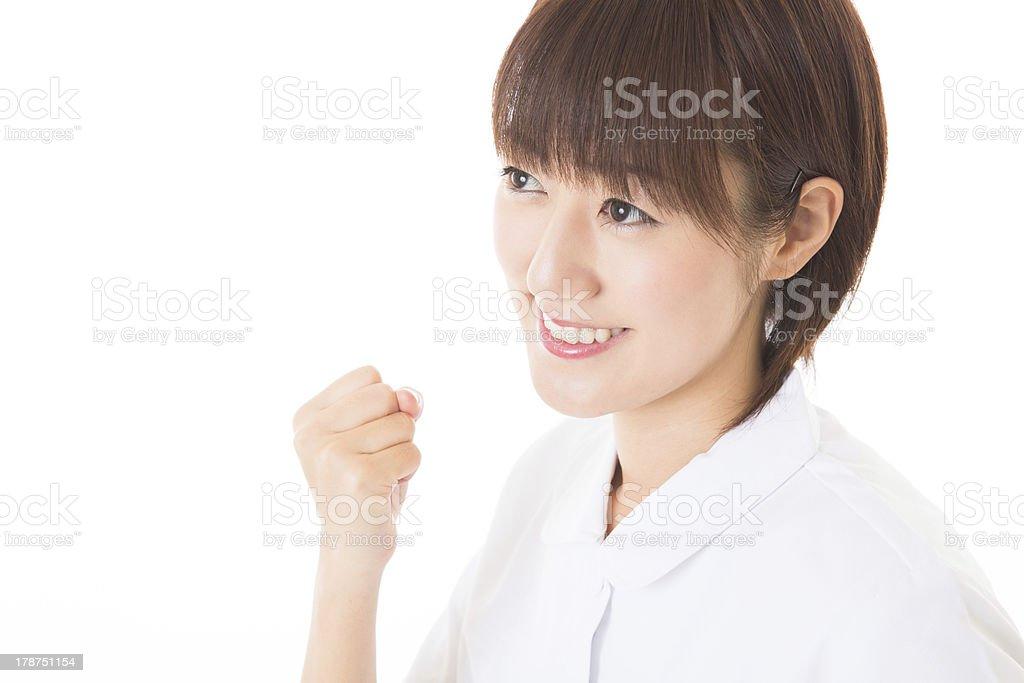 Young nurse royalty-free stock photo