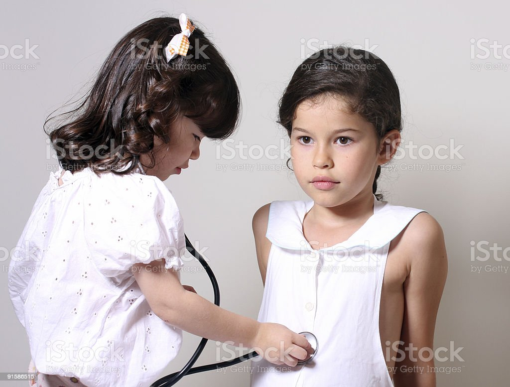 young nurses royalty-free stock photo