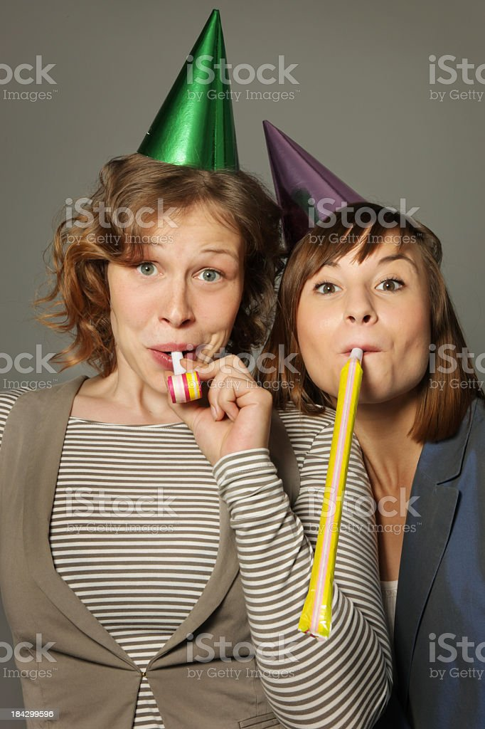 Young Party Women stock photo