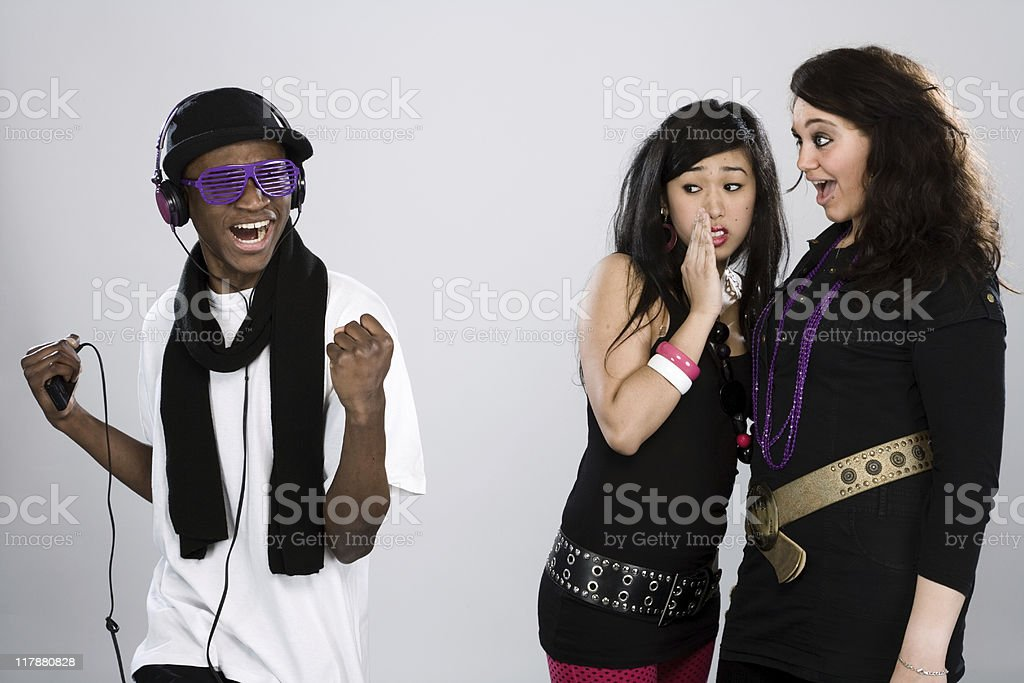 Young People royalty-free stock photo