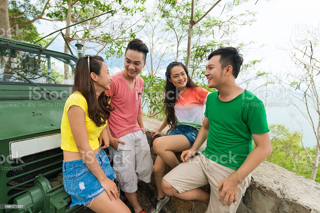 Young people stock photo