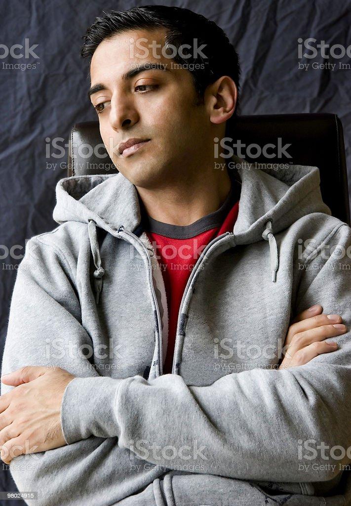 Young Persian Man royalty-free stock photo
