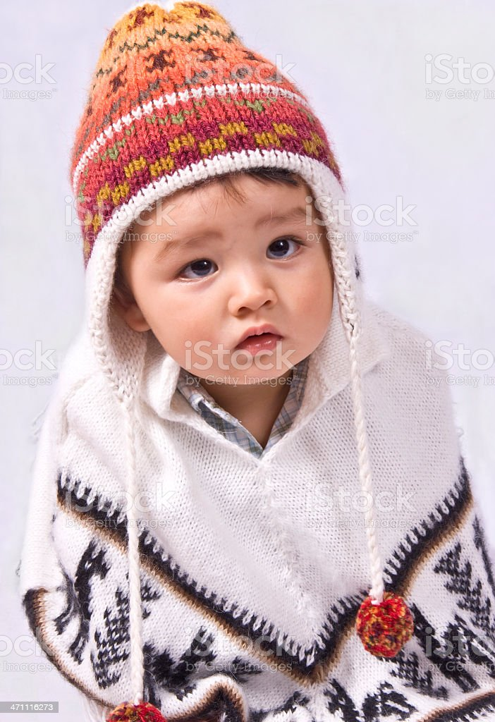 Young Peruvian royalty-free stock photo