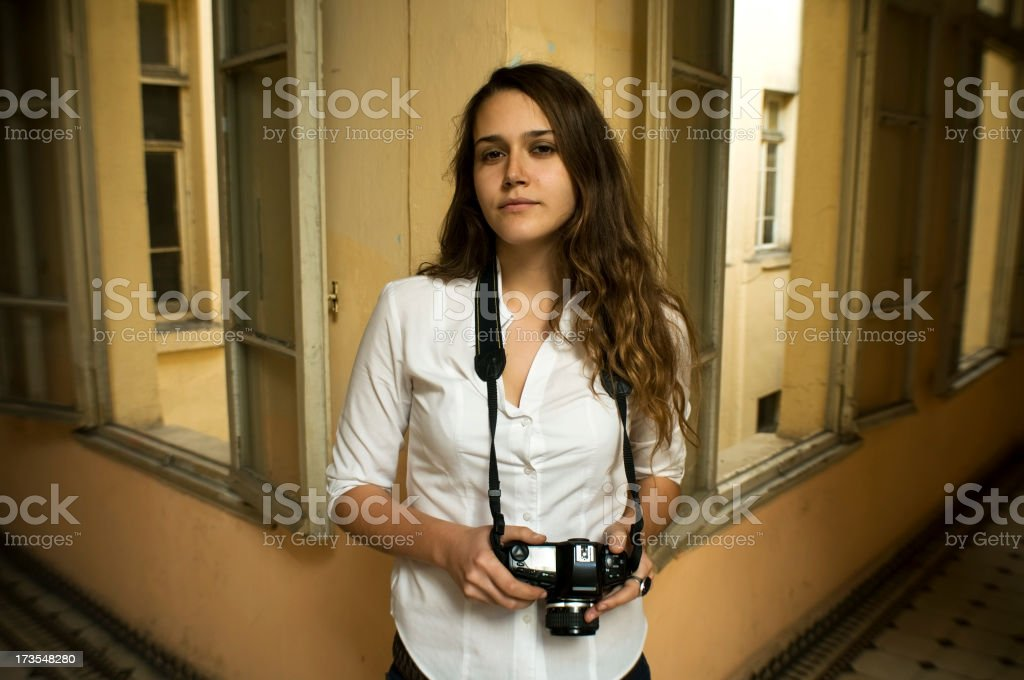 Young Photographer... royalty-free stock photo