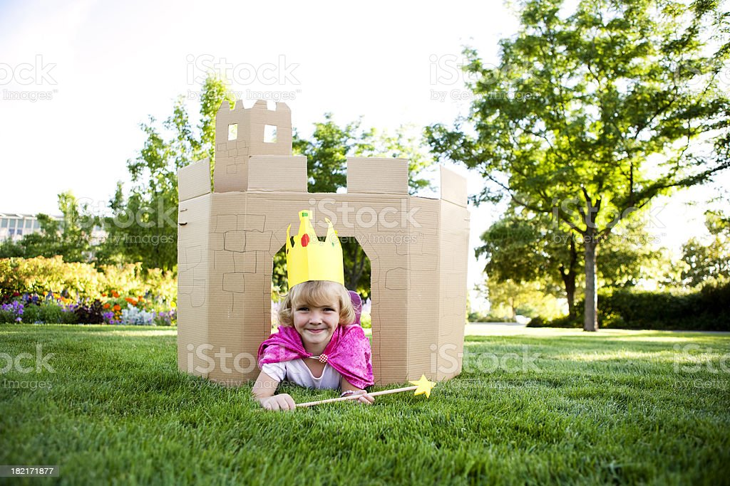 Young Princess royalty-free stock photo