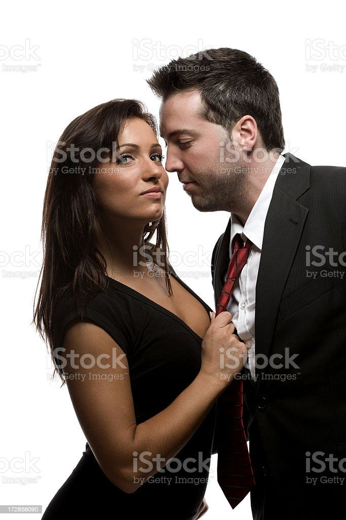 Young professional couple. stock photo