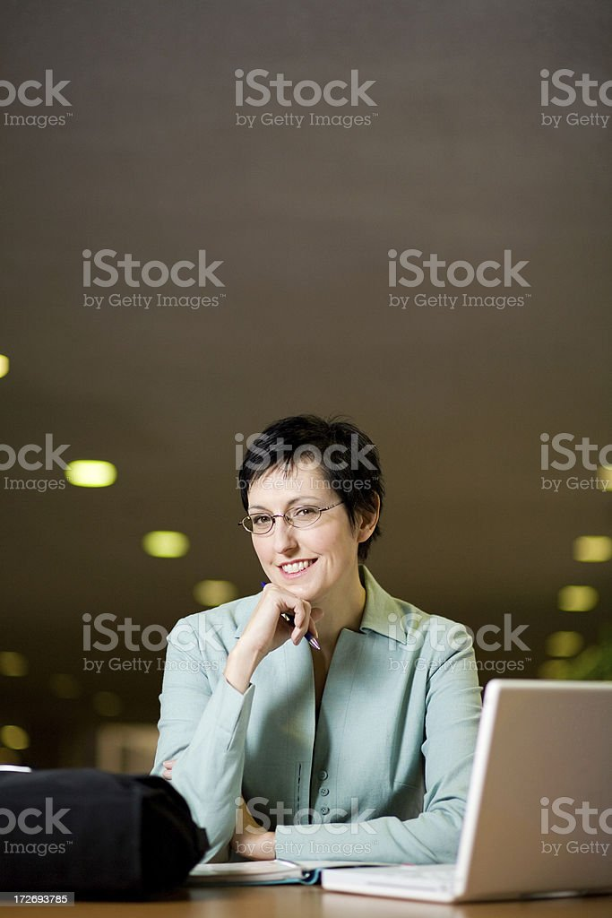 young professional woman royalty-free stock photo