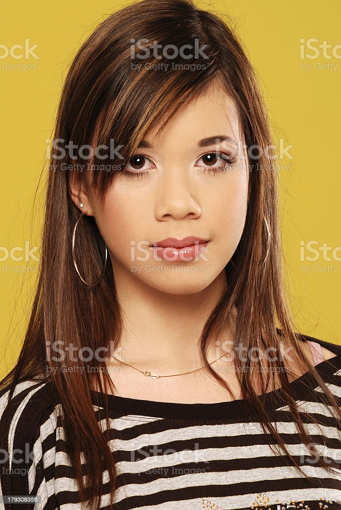 Young & proud royalty-free stock photo
