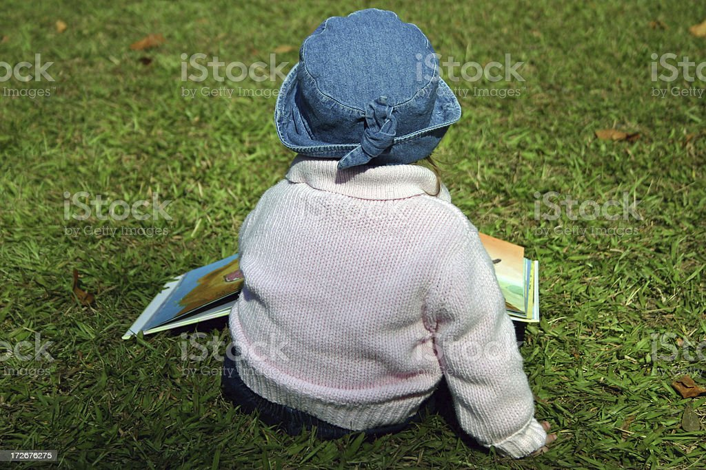 Young reader royalty-free stock photo