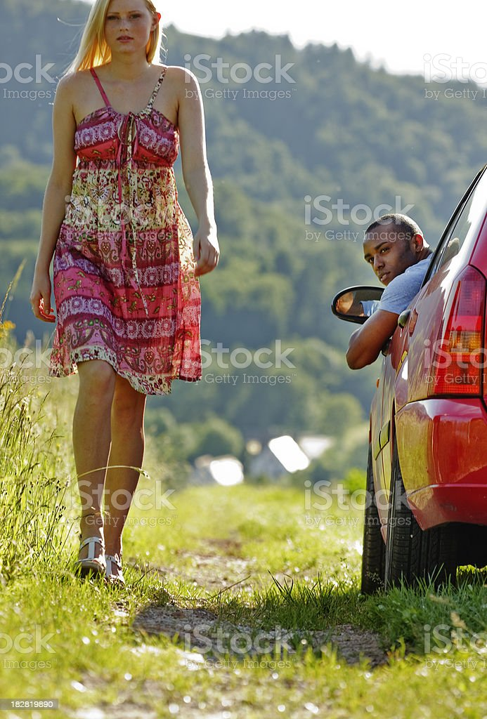 Young Relationship Problems royalty-free stock photo