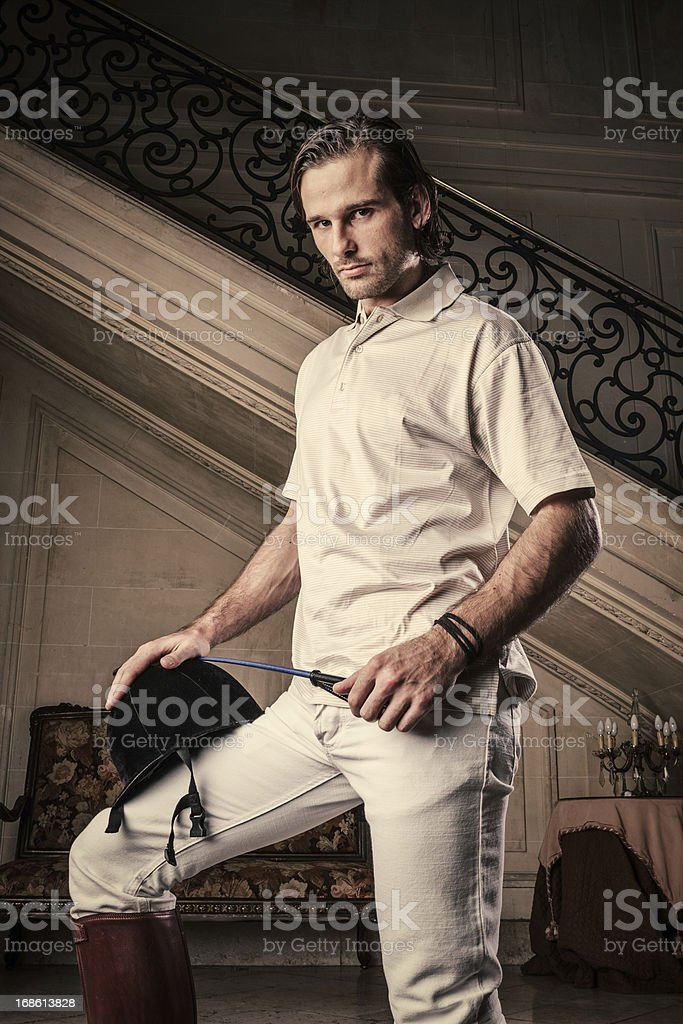 Young rich man royalty-free stock photo