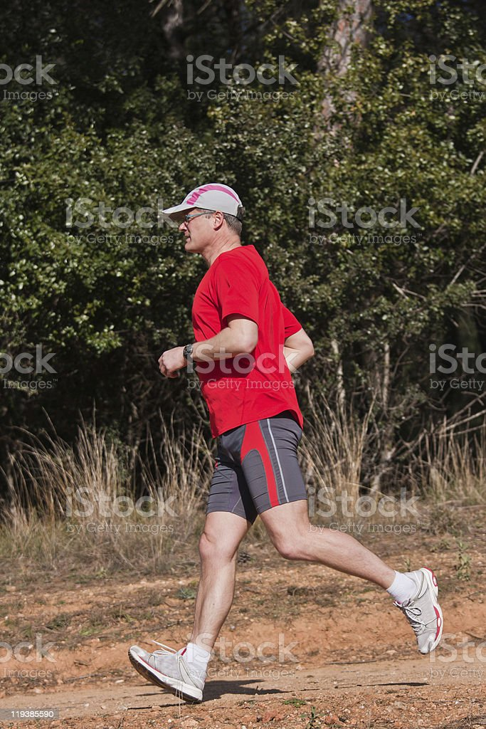 Young runner royalty-free stock photo