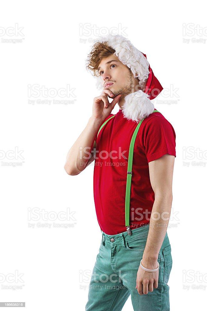 Young Santa royalty-free stock photo