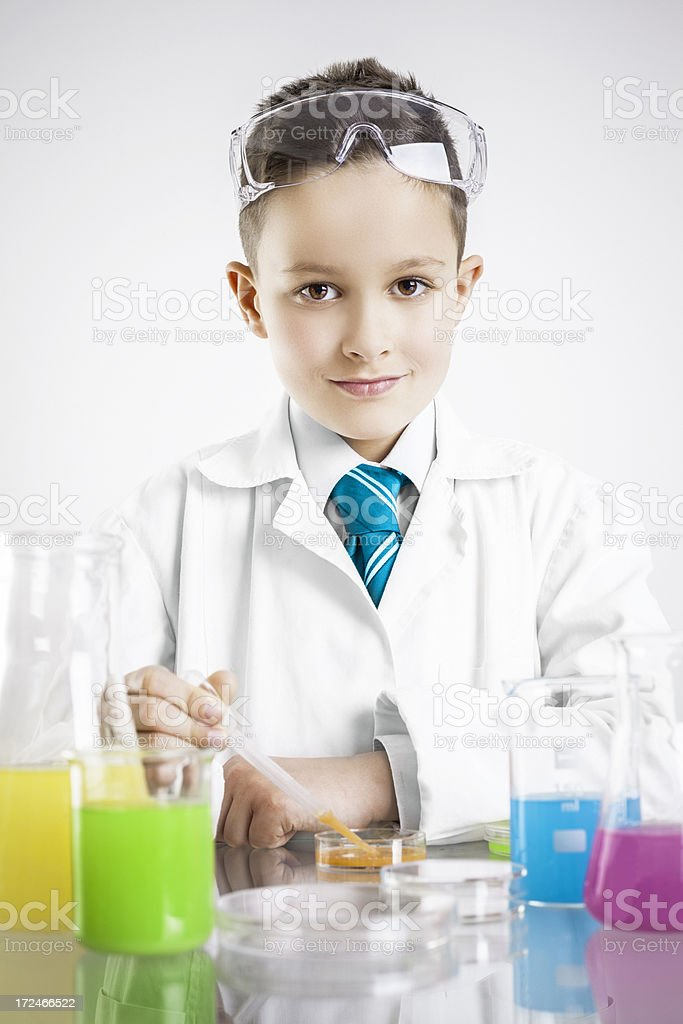 Young Scientist royalty-free stock photo