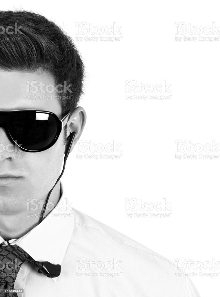 Young Security Staff stock photo