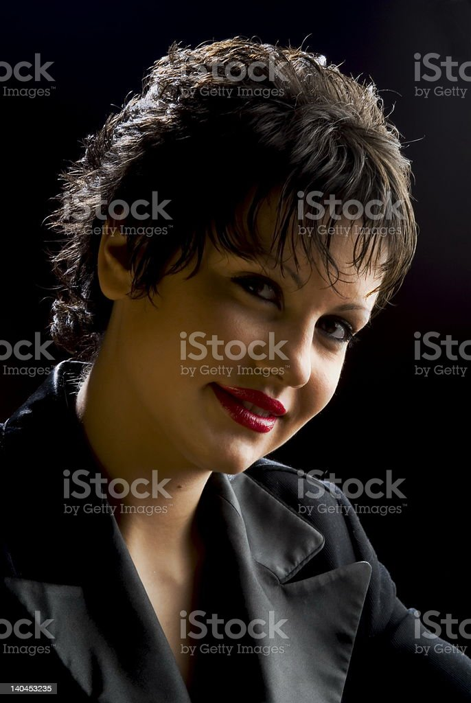 Young seductive girl royalty-free stock photo