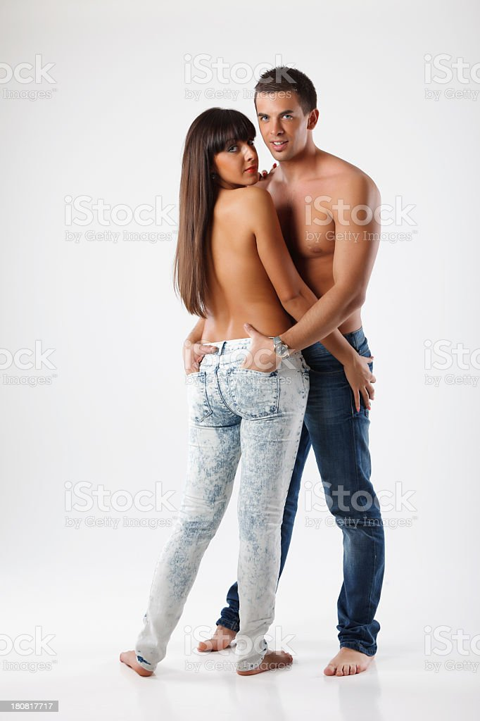Young sensual couple royalty-free stock photo