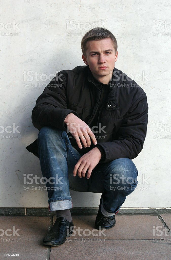 Young Sexy Man royalty-free stock photo