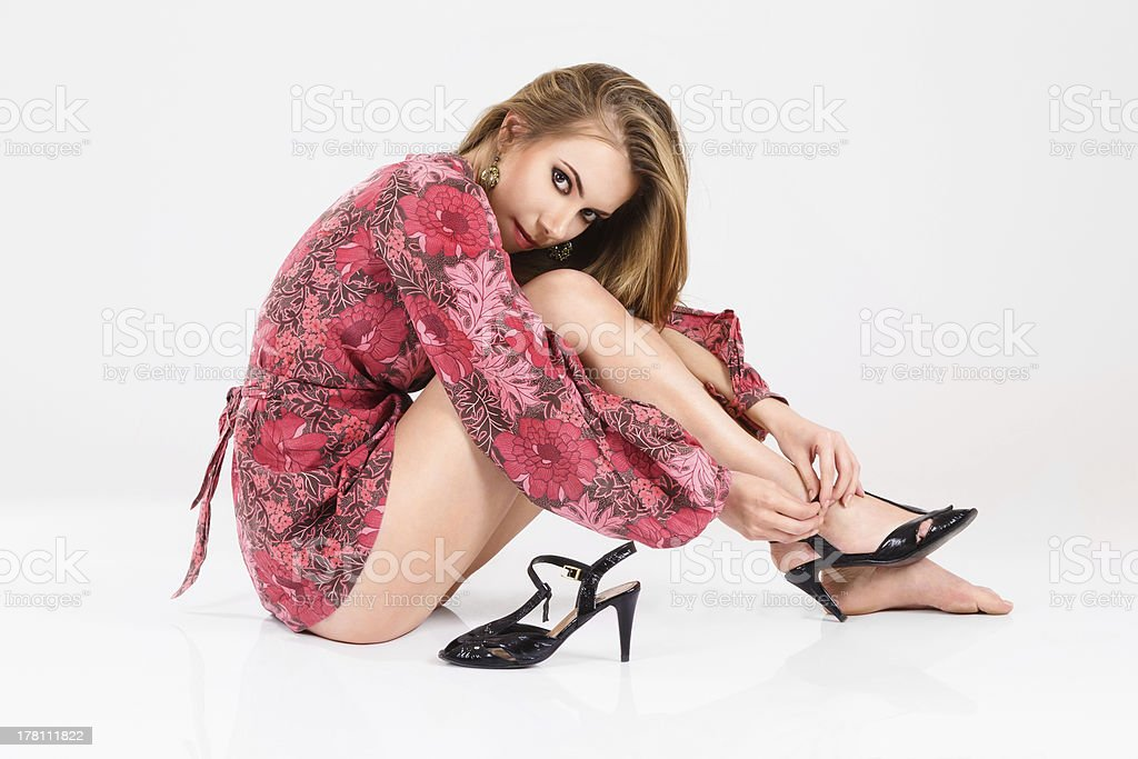 Young sexy woman stock photo